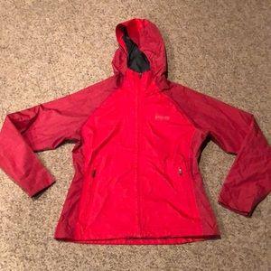 Columbia Red Omni Heat Hooded Jacket sz M
